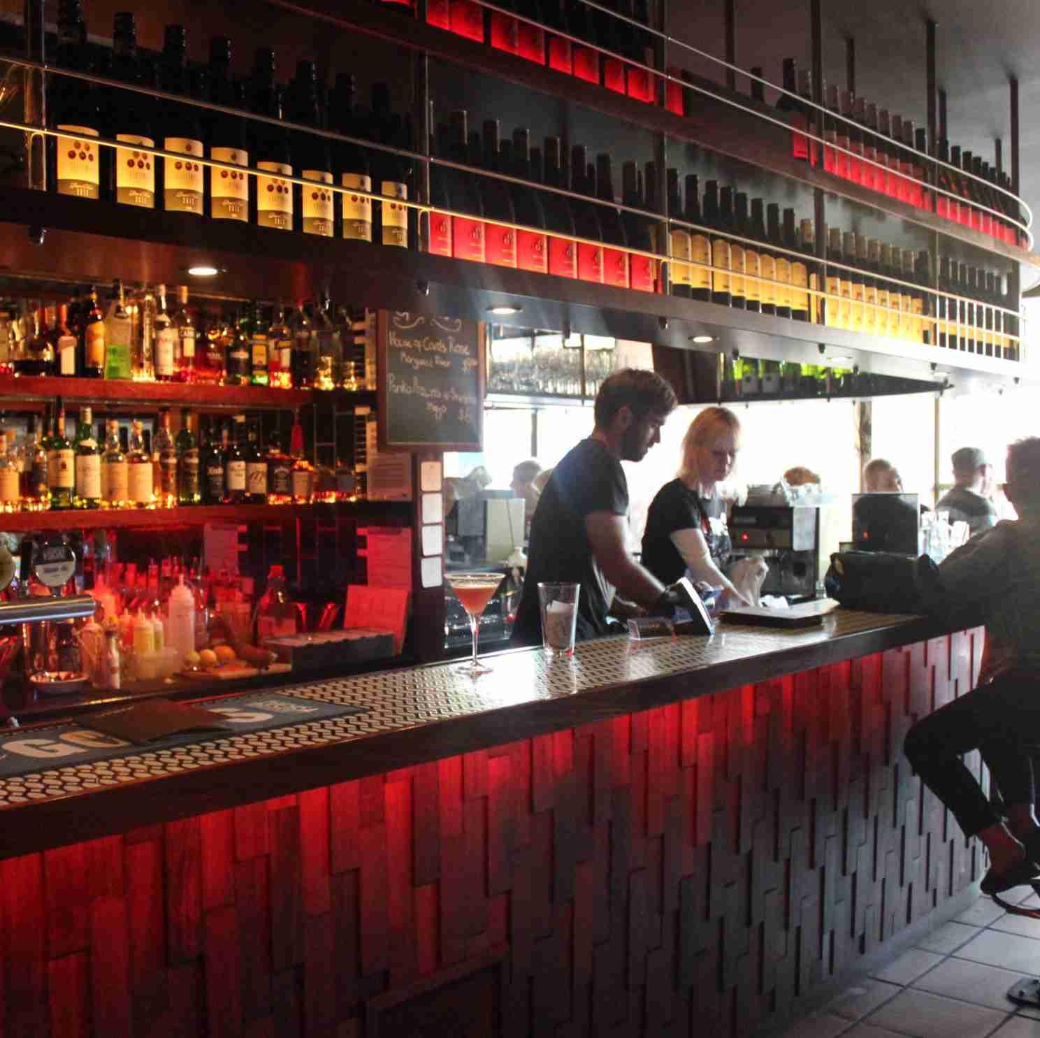 Bar & Courtyard